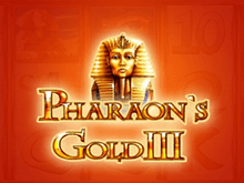 Pharaohs Gold III в клубе Вулкан 24