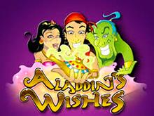 В виртуальном клубе играть в Aladdins Wishes