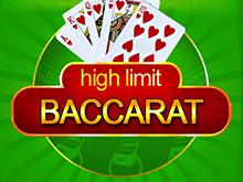 High Limit Baccarat от Microgaming — слот для мобильный устройств
