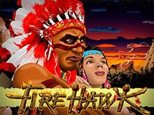 На зеркале азартная онлайн игра Огненный Ястреб