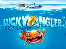 Играйте на деньги и выигрывайте с автоматом Везучий Рыбак: Зимний Улов